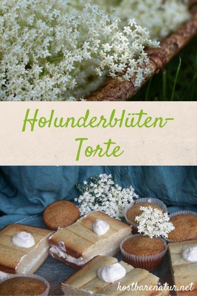 Die aromatischen Blüten des Holunders kannst du nicht nur für Sekt und Sirup nutzen, sie sind auch eine Wunderbare Backzutat, z.B. für diese Holundertorte!