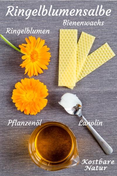 Eine Salbe mit Ringelblumen ist eines der besten Heilmittel für Verletzungen, Entzündungen und andere Hautprobleme. So stellst du sie einfach selbst her!
