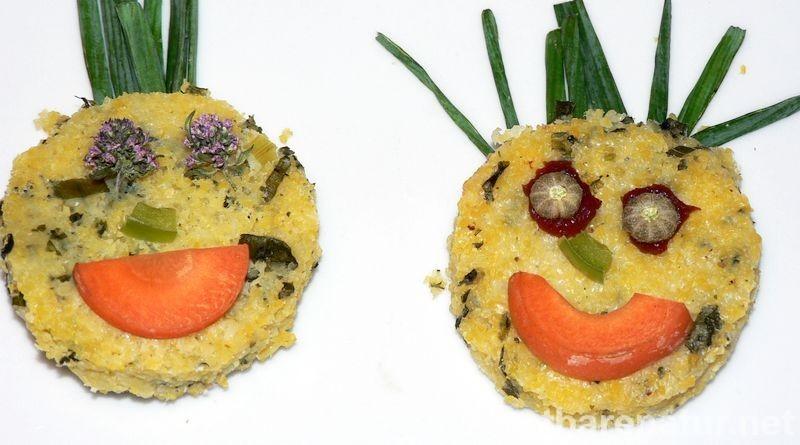 Findest du Polenta langweilig? Dann probier dieses Rezept mit frischen Wildkräutern! Du und deine Gäste werden begeistert sein.