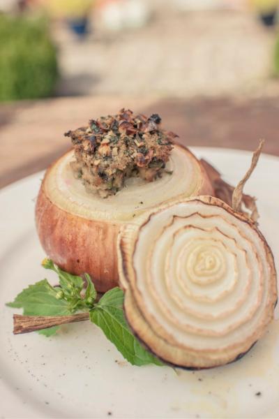 Vier ausgezeichnete Heilpflanzen in einem schmackhaften und gesunden Gericht!