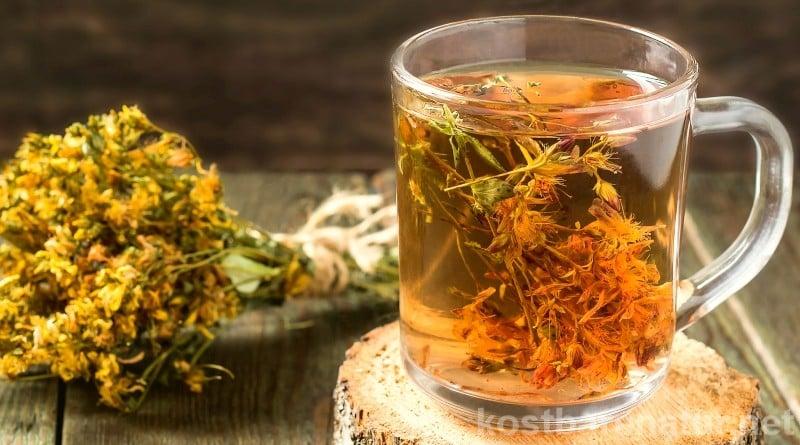 Das Johanniskraut speichert die Energie der Sonne und ein Teeaufguss kann uns besonders im Winter bei Stimmungstiefs, leichten Depressionen und Schlafstörungen helfen.