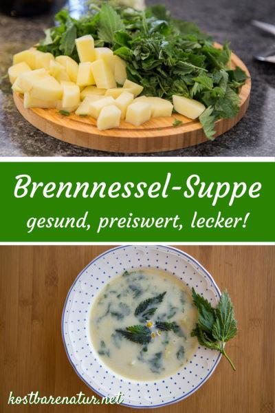 Die Brennnessel ist nicht nur eine wunderbare Heilpflanze, auch in der Küche bereichert sie viele Speisen, so zum Beispiel diese leckere Sommersuppe.