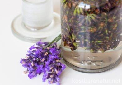 Lavendeltinktur gegen Schlafprobleme, Migräne und vieles mehr
