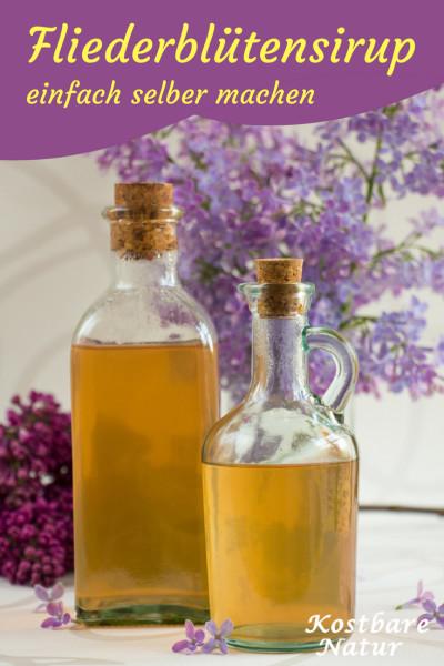 Die Blüten des Flieders mit ihrem betörend-aromatischen Aroma sind nicht nur schön anzusehen. Probiere doch mal dieses Rezept für köstlichen Blütensirup!