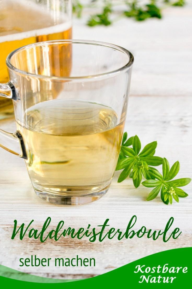 Eine Maibowle mit echtem Waldmeister schmeckt unvergleichlich fein-würzig nach Frühling. Sie ist ganz einfach zuzubereiten!